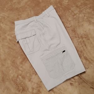 NIKE men's size 36 waist sportswear cargo shorts.
